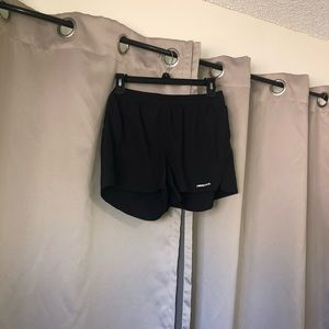 Women's Patagonia training shorts